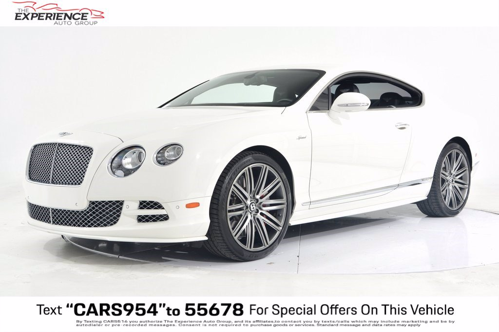Pre-Owned 2015 Bentley Continental GT Speed Speed