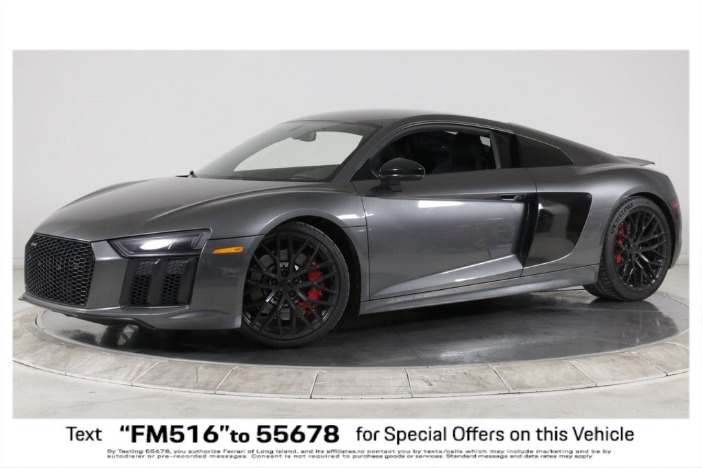 Pre-Owned 2018 Audi R8 Coupe V10