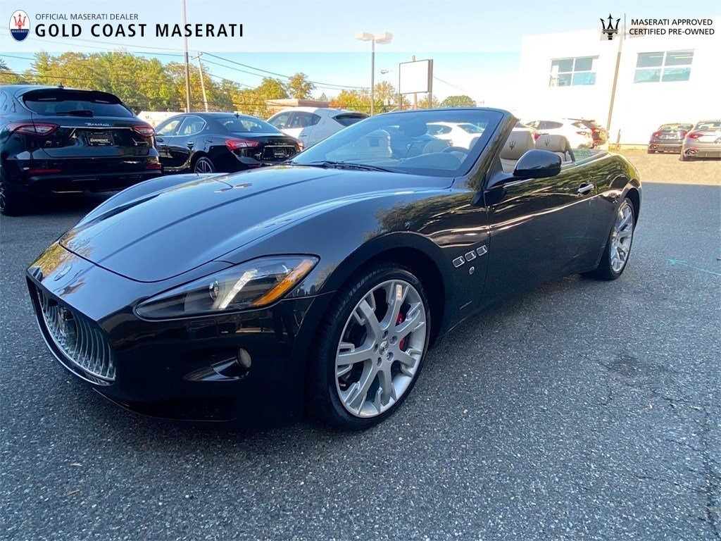 Certified Pre-Owned 2015 Maserati GranTurismo Convertible