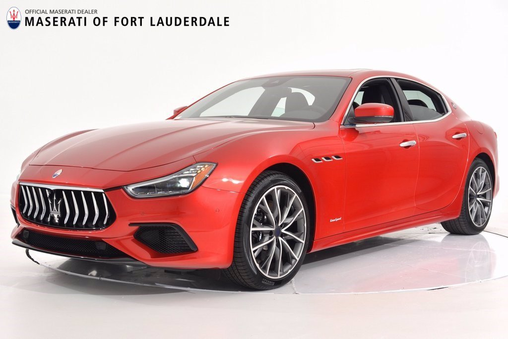 New 2019 Maserati Ghibli S GranSport