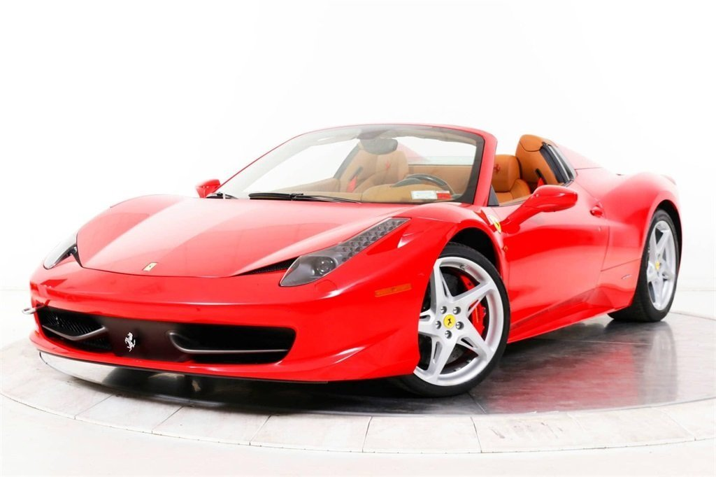 Certified Pre-Owned 2013 Ferrari 458 SPIDER