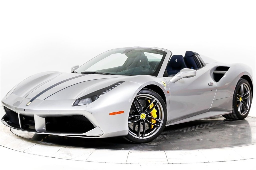 Certified Pre-Owned 2017 Ferrari 488 SPIDER