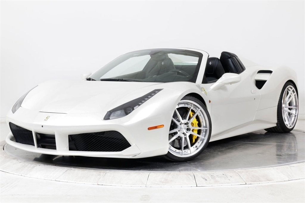 Certified Pre-Owned 2016 Ferrari 488 SPIDER